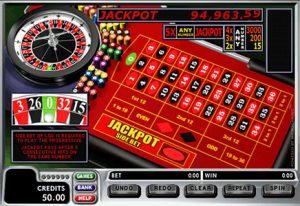 Roleta com jackpot progressivo